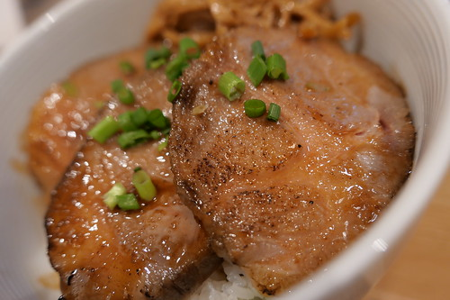 チャーシュー丼 rice with grilled pork  sirusi 04
