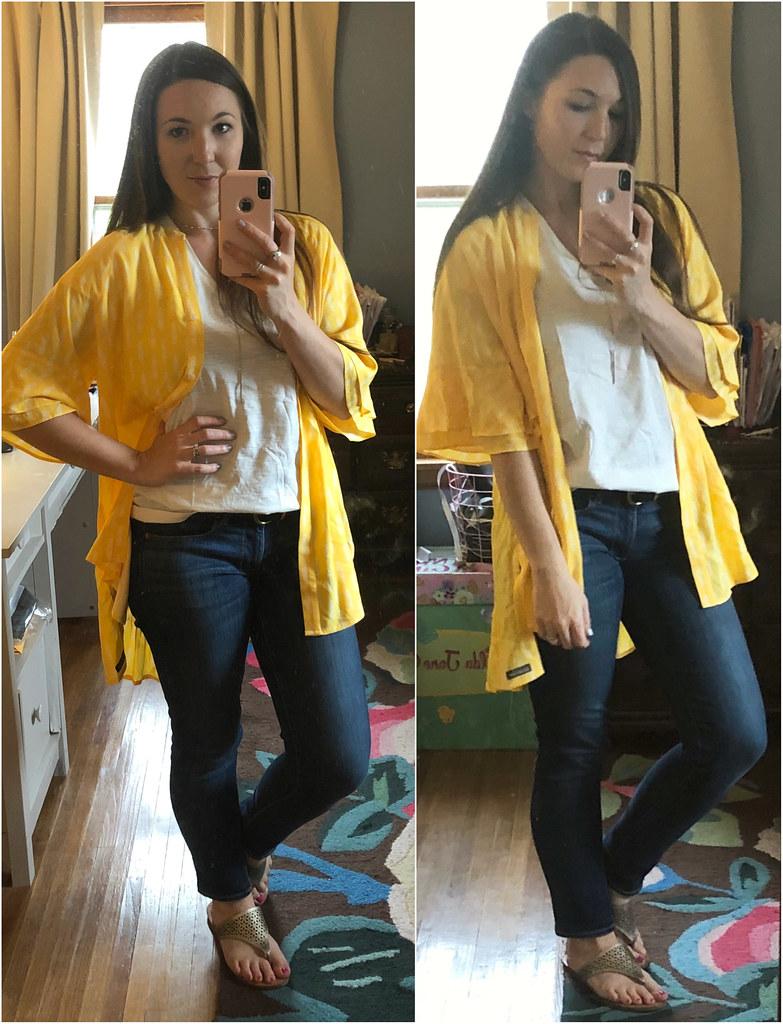 matilda jane yellow golden hour top