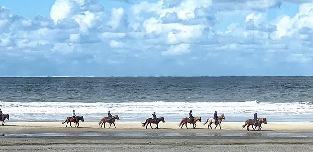 Beach riding, Vlieland