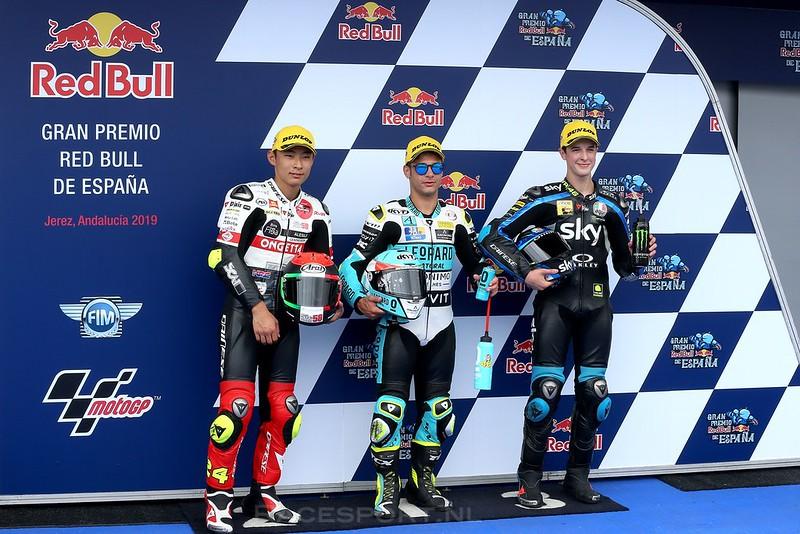 Moto3 kwalificatie top 3