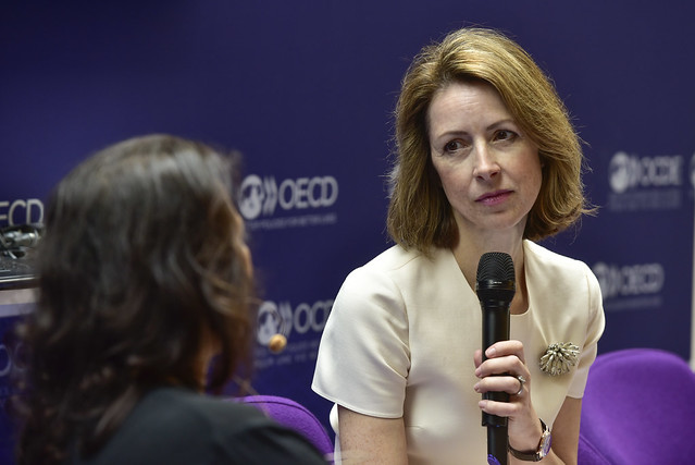 2019 OECD Forum: Meet the Author - A Good Time to be a Girl