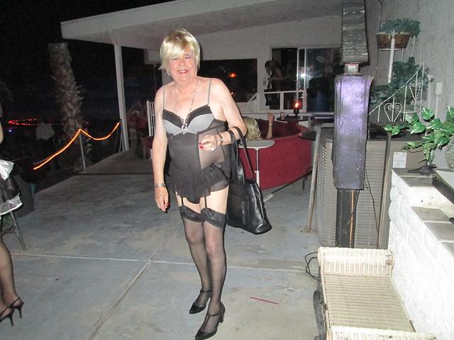 Naughty Sido  clubbing at  Flex Lounge Las Vegas