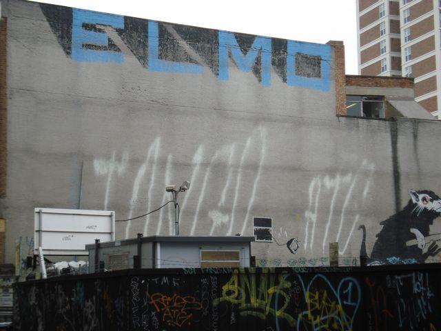 Elmo, Tango ATG & Banksy