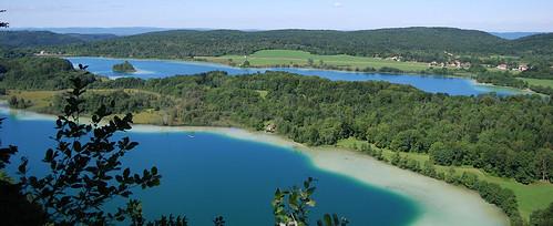 4 lacs, le Frasnois