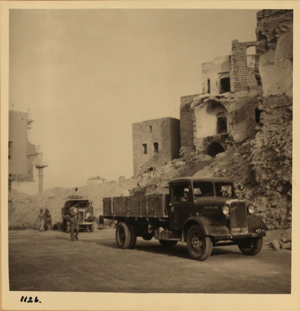 1126. 7 ноября. Проделанная новая дорога через Яффо
