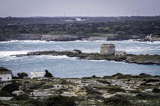 Temporal en Menorca