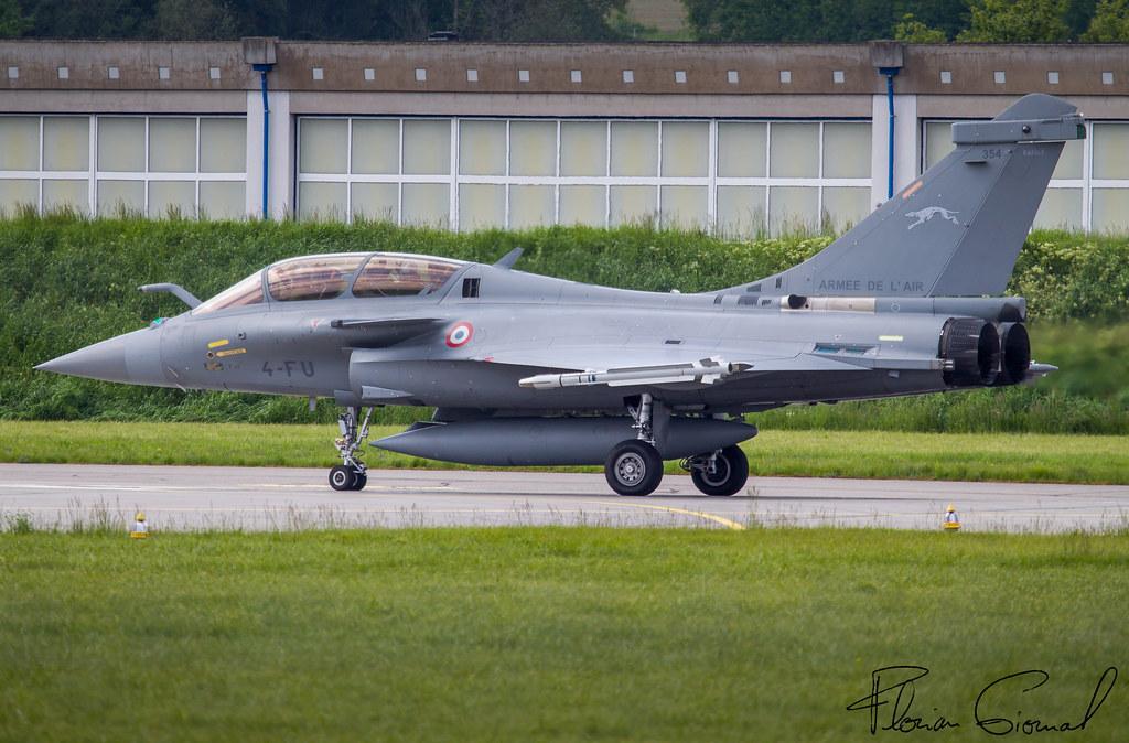 French Air Force Dassault Rafale B 4-FU SPA 81   LSMP