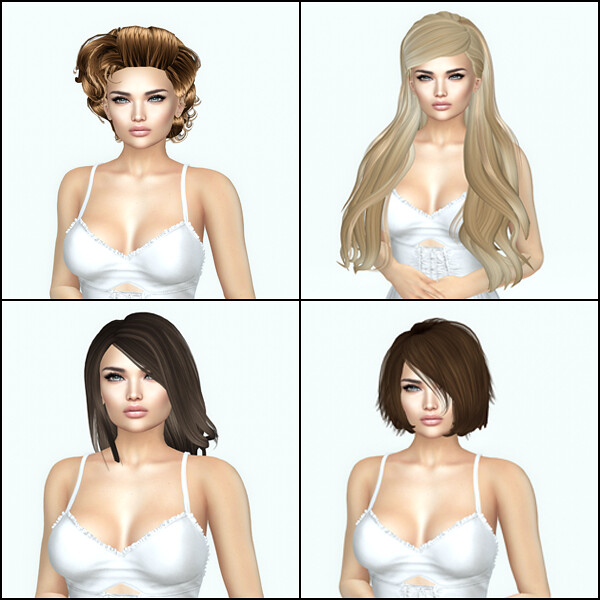 Free Dove Hair Set 2