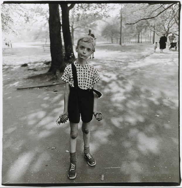 tn_Child with a toy hand grenade in Central Park source Metropolitan Museum Of Art