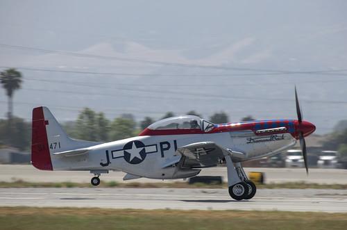 P-51D Diamondback Breaking Free