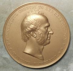 Cornelius Vanderbilt Mint Medal obverse