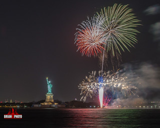 Statue Of Liberty Fireworks-1-4