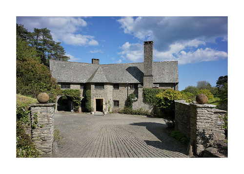 COLETON FISHACRE front   by Barry Haines
