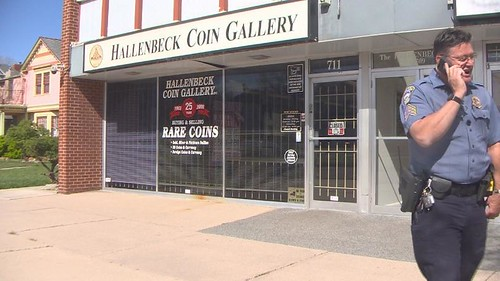 Hallenbeck Coin Gallery Robbed