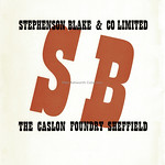 Mon, 2019-04-08 13:28 - A superb bold traetment of the rear cover to the prospectus for the Stephenson, Blake & Co Ltd 'Playbill' typeface. It was issued in 1938 to promote the typeface designed for them by Robert Harling who produced an updated version of a French Clarendon.