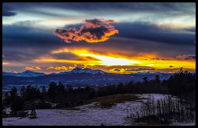 Wilkerson Pass Sunset