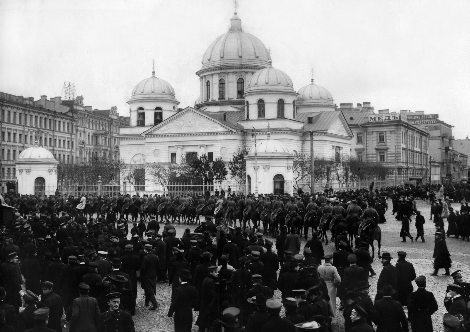 Знаменская церковь. 2 октября 1905
