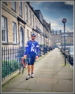 Cycling in Edinburgh without wheels ♦️ Edinburgh Festival of Cycling 6-16 June