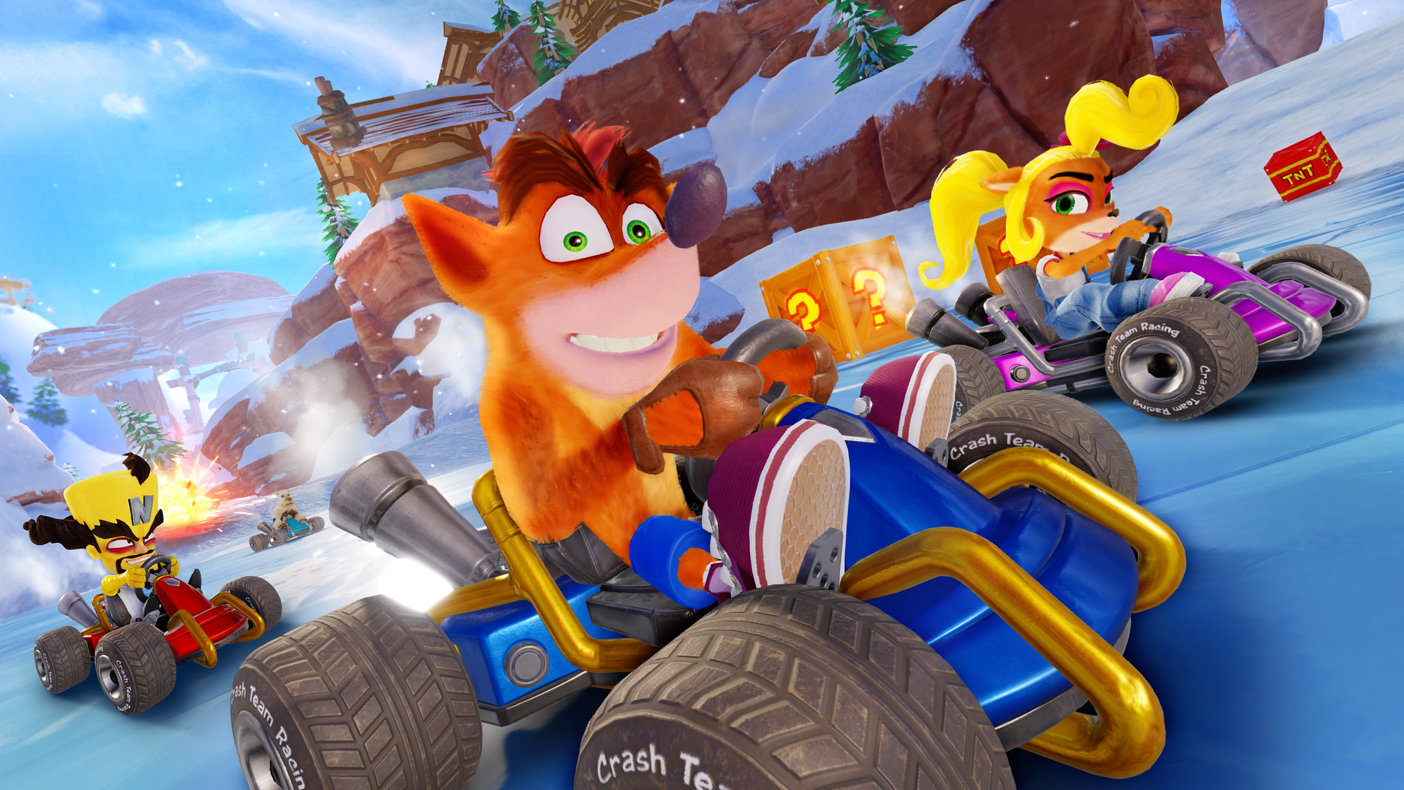 Crash Team Racing Nitro-Fueled traerá de regreso el modo aventura