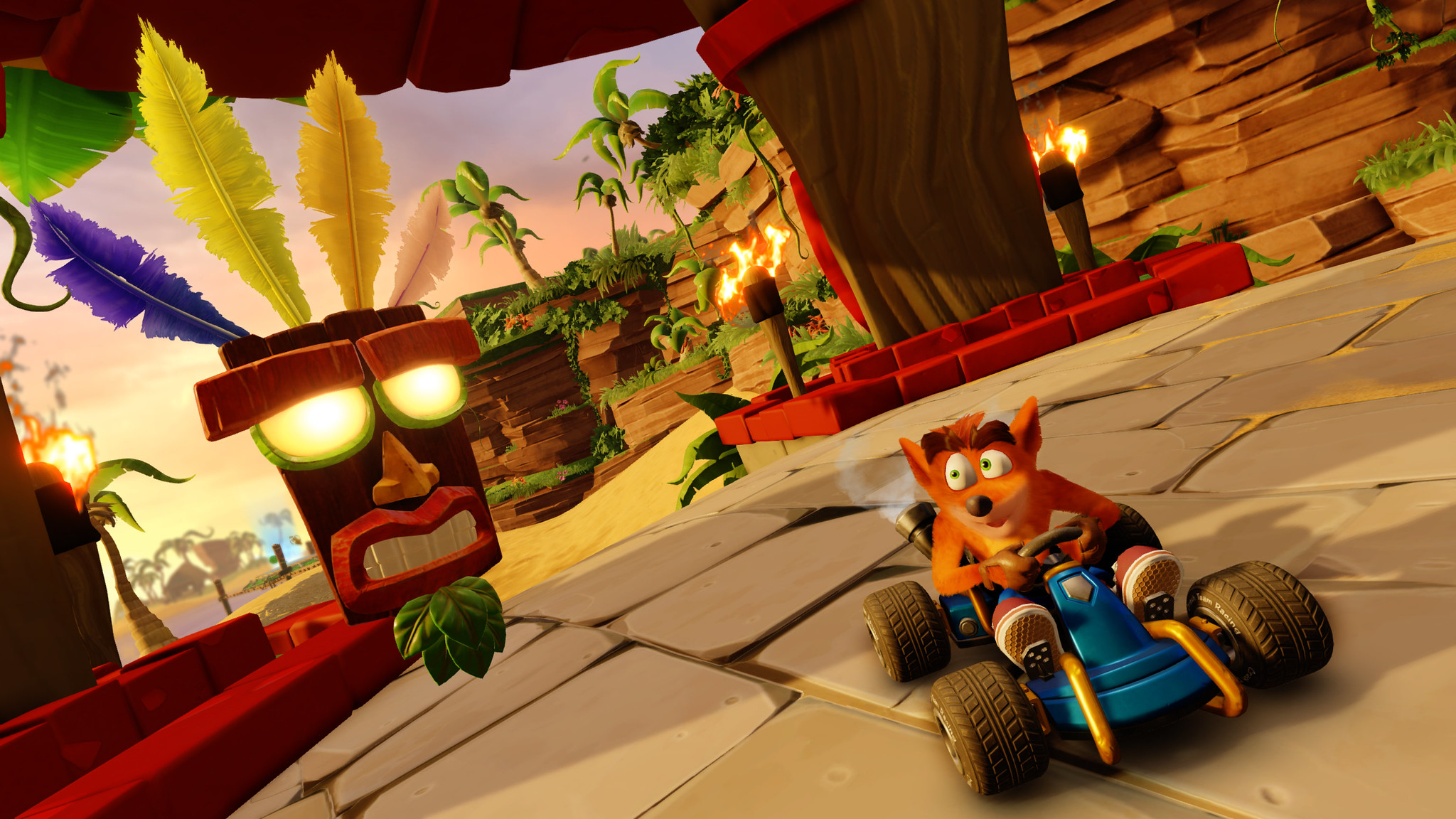 Así se ve el modo Aventura de Crash Team Racing Nitro-Fueled