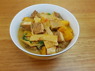 Red Curry with Kabocha and Potatoes