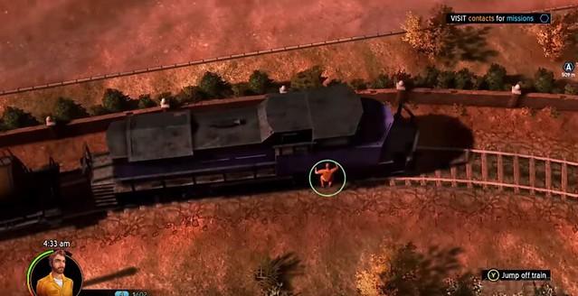 Amerykański zbieg - pociąg
