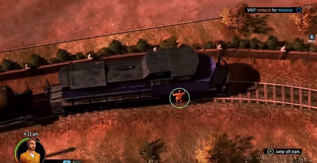American Fugitive - Train