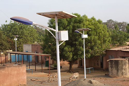 Les panneaux solaires de Mountougoula