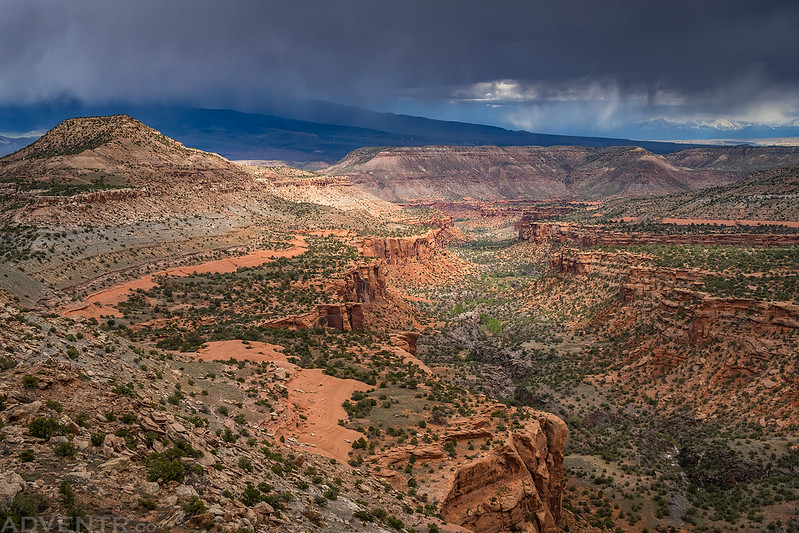 Big Dominguez Canyon Overlook