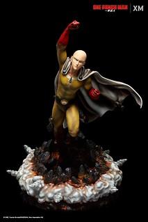 「這可是我的城市,是誰准你...掉在這裡的?」XM Studios Premium Collectibles 系列《一拳超人》埼玉 Saitama 1/4 比例全身雕像作品 情報公開~