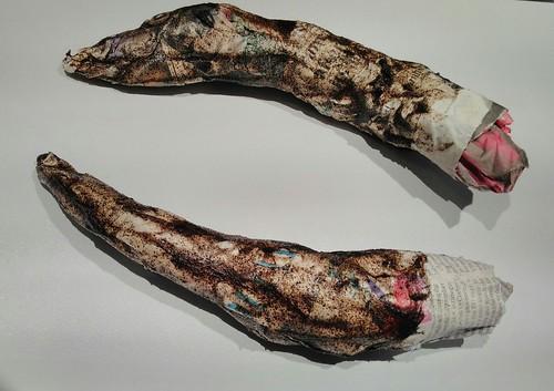 Paper mâché Horns