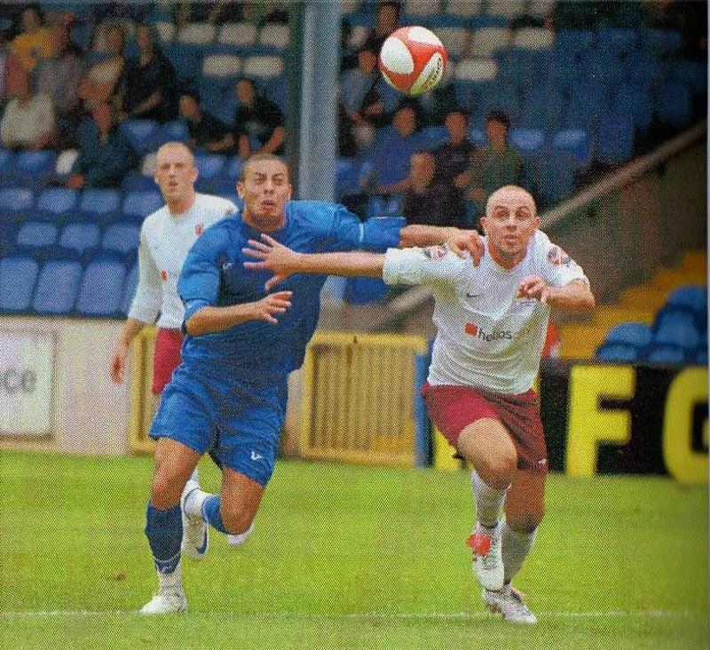 30-08-2008 Halifax Town 0-0 Silsden (FAC) 9 Dorryl Proffitt vs Durham City