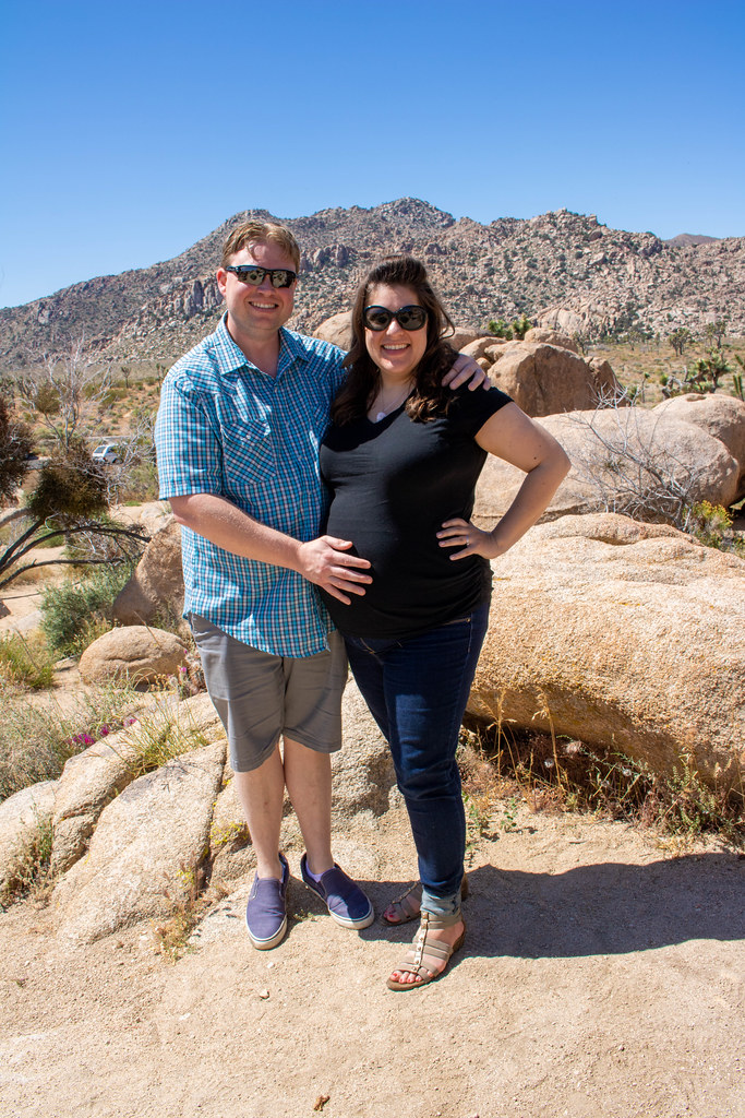 Us in Joshua Tree