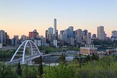 Edmonton power Walterdale bridge