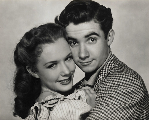 Piper Laurie and Scotty Beckett in Louisa (1950)