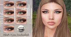 ::MD:: May Catwa Eye Appliers + Mesh Eyes (unrigged)