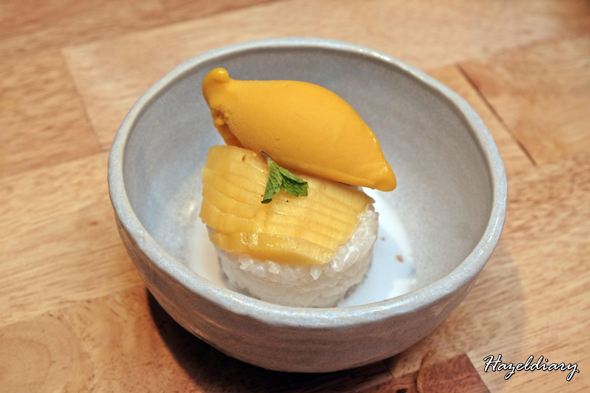 The Sampan Restaurant-Mango Sticky Rice