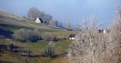 Le Peyras (Vallée de Campan, Hautes-Pyrénées, Fr) – Matin d'hiver