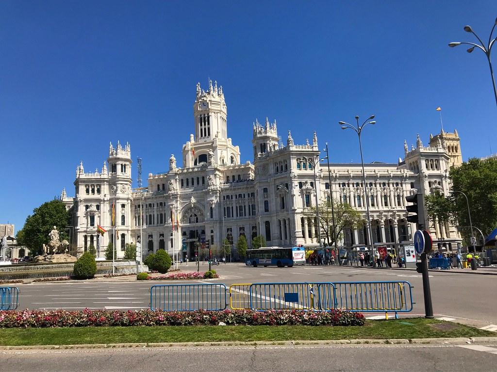 Palacio De Cibeles Madrid Spain Marc Sayce Flickr