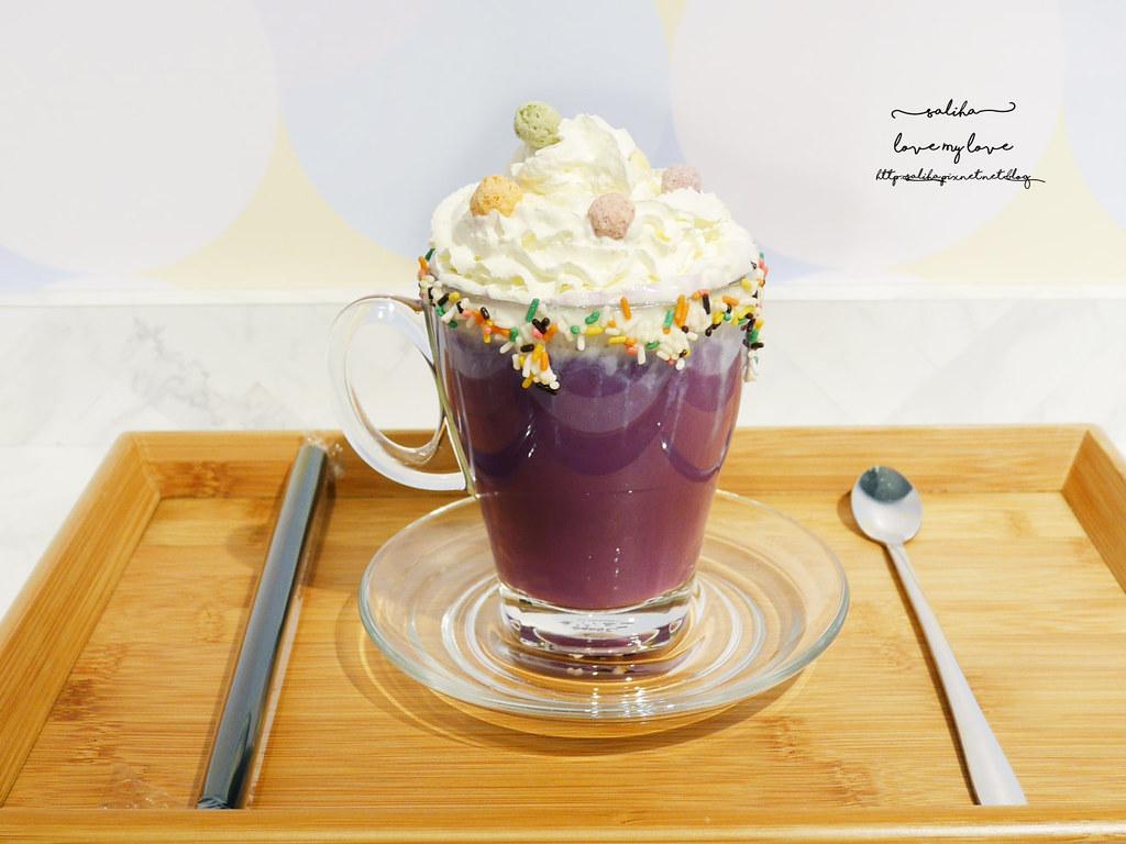 新北板橋ig打卡浮誇系甜點飲品冰品下午茶Chic Chic咖啡廳 (7)