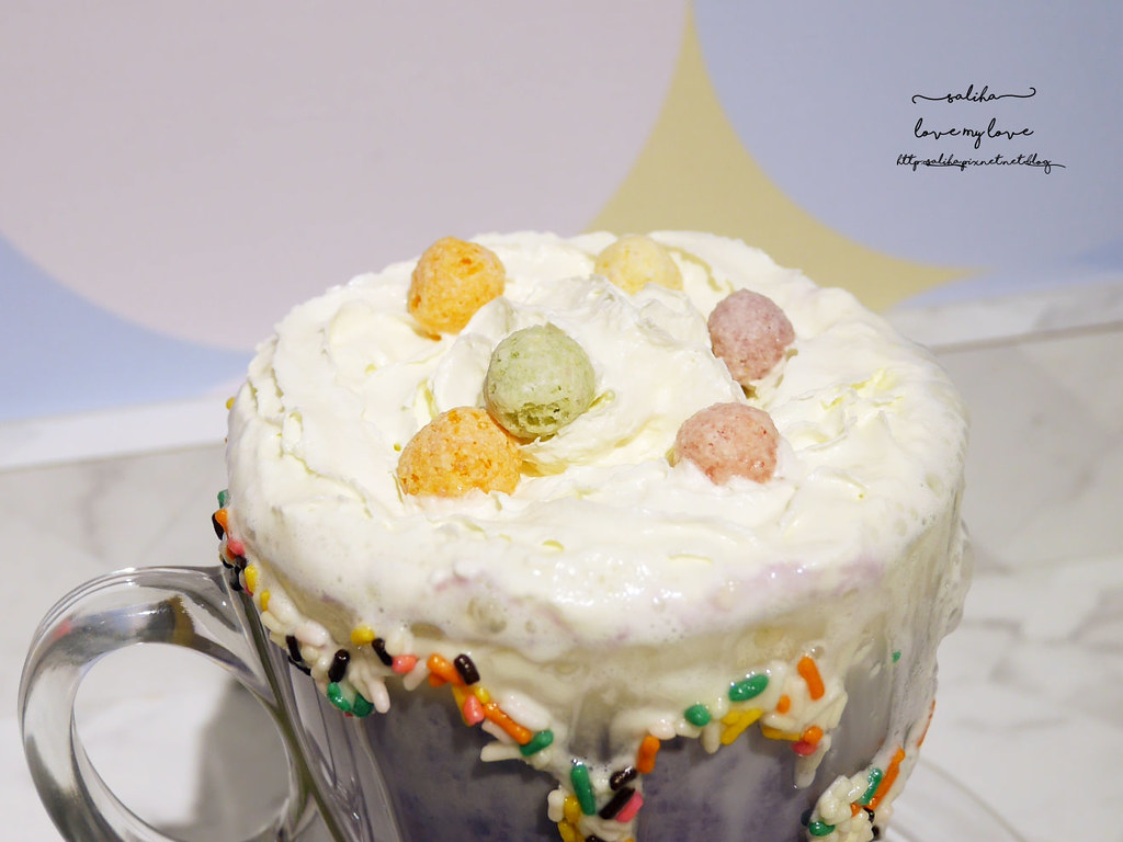 新北板橋ig打卡浮誇系甜點飲品冰品下午茶Chic Chic咖啡廳 (1)