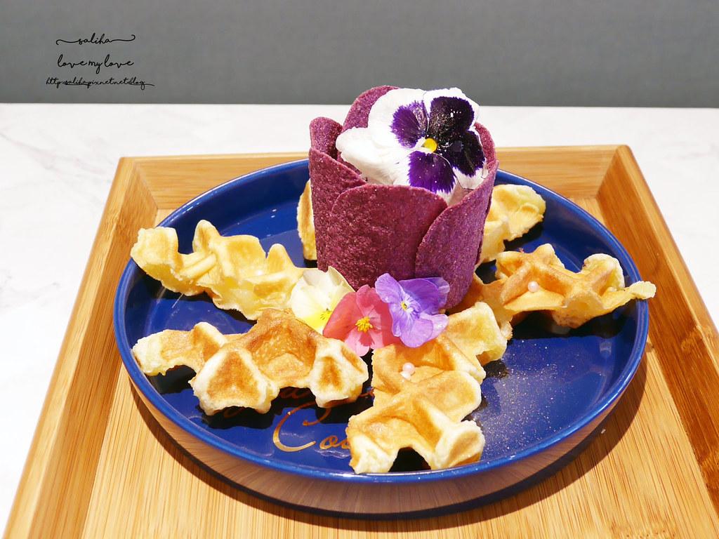 新北板橋Chic Chic夢幻咖啡廳下午茶浮誇系甜點冰品ig打卡美食  (2)