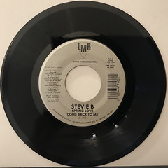 STEVIE B:SPRING LOVE(RECORD SIDE-B)