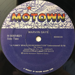 MARVIN GAYE:A FUNKY REINCARNATION(LABEL SIDE-B)