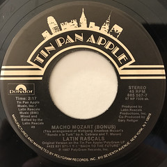 LATIN RASCALS:MACHO MOZART(LABEL SIDE-B)
