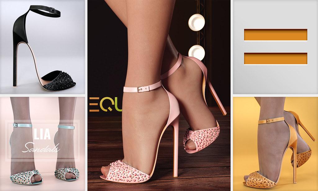 EQUAL - Lia Sandals - TeleportHub.com Live!