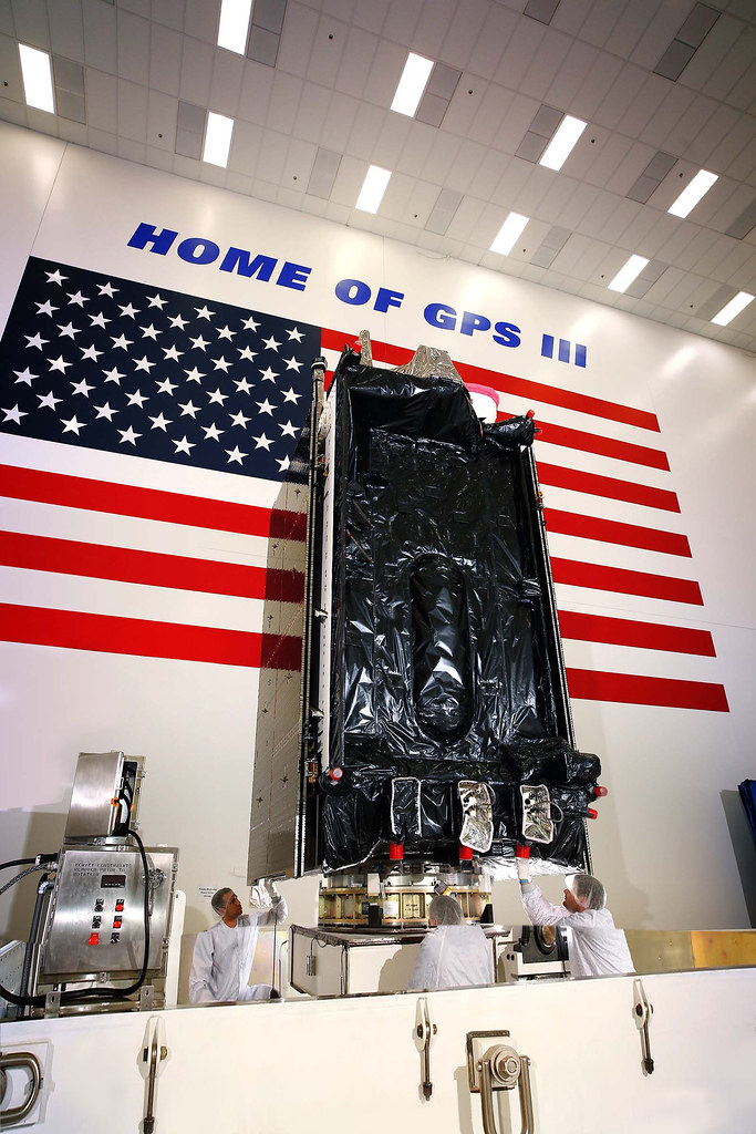 GPS III SV02 Shipping to Launch