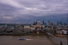 Clear View from Tate on the other side of the Themse