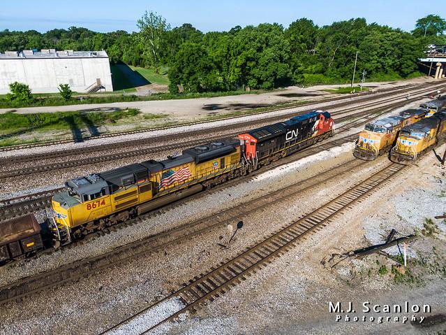 UP 8674   EMD SD70ACe   NS Memphis District West End
