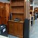 Solid pitch pine kitchen dresser E250